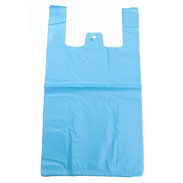 Blue Recycled Carrier Bag