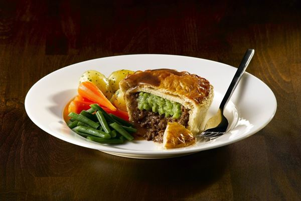 Wrights Pea Supper Pie