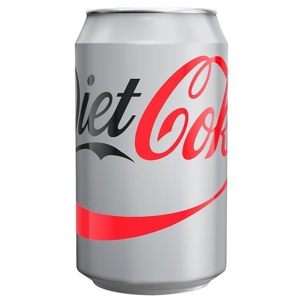 Diet Coca Cola Can