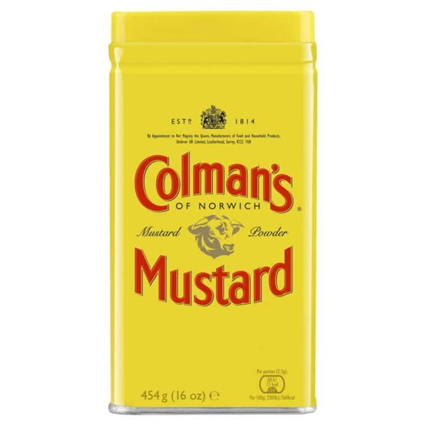 Colmans Superfine Mustard Powder 454g