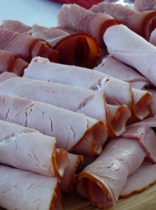 Sliced Ham Cropped