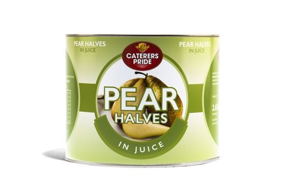 Pear Halves in Juice 2.55kg