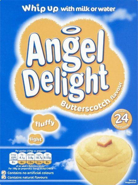 Birds Butterscotch Angel Delight