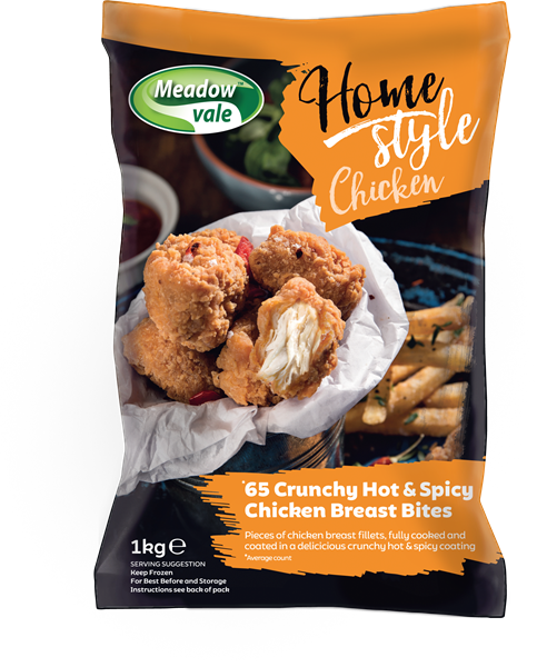 Meadow Vale Homestyle 10-20g Hot & Spicy Bites [4x1kg]