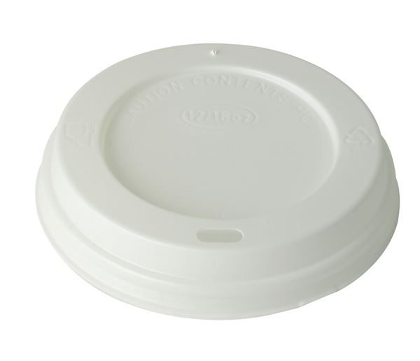 10-20oz White Cup Lid