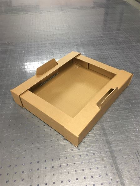 Small Corrugated Delivery Tray