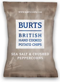 Burts Sea Salt and Black Pepper Crisps