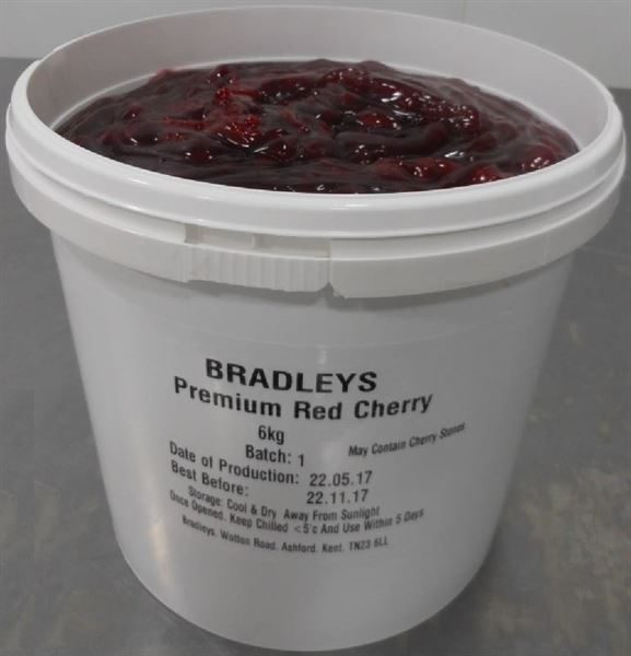 Naked Foods Premium Red Cherry Pie Filling