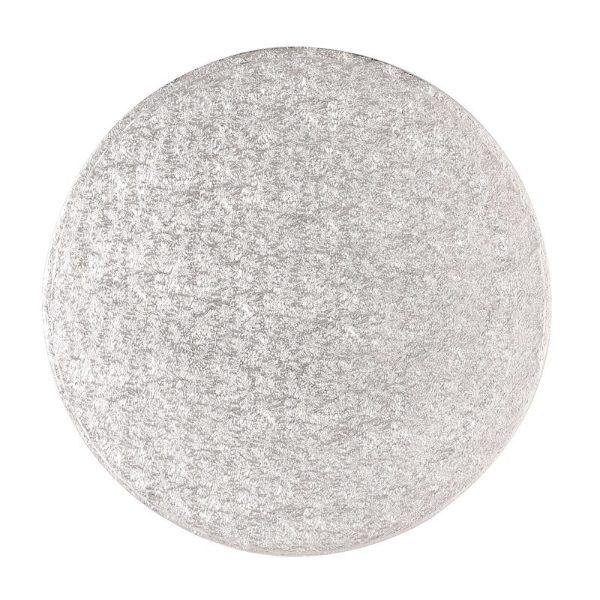 Round Cake Board - Silver