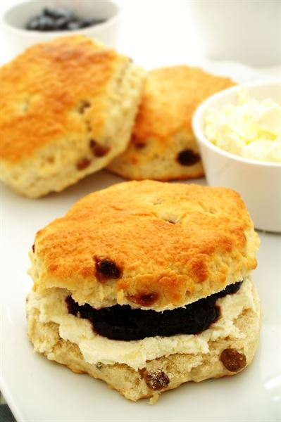Fletchers Individually Wrapped Giant Sultana Scone